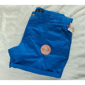 NWT Lee Comfort Stretch Chino Vaca Blue Plus 16
